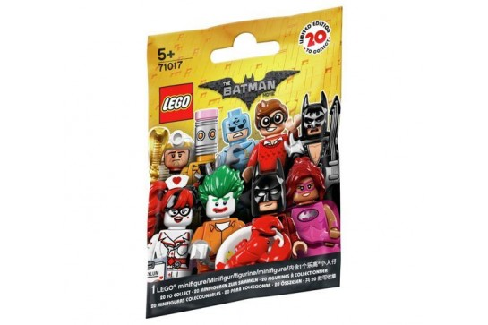 The LEGO Batman Movie Minifigures 71017