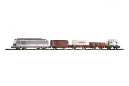 PIKO 96950 Zestaw Startowy Towarowy 4 Wagony SNCF