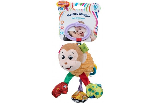 Małpka Maggie Zawieszka Do Wózka z Wibracją