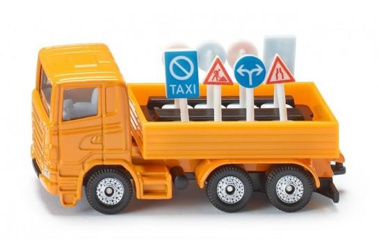 Ciężarówka Służby Drogowej Siku 1322