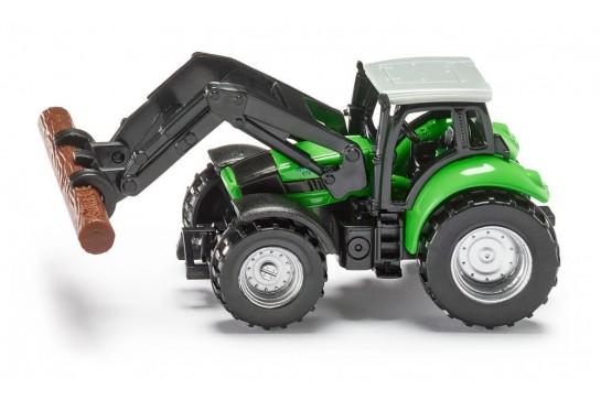 Traktor ze Szczypcami do Drewna Siku 1380