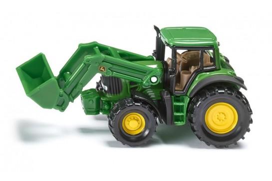 Traktor John Deere z Przednią Ładowarką