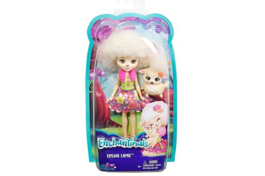 Enchantimals Lalka Lorna Lamb Mattel FCG65