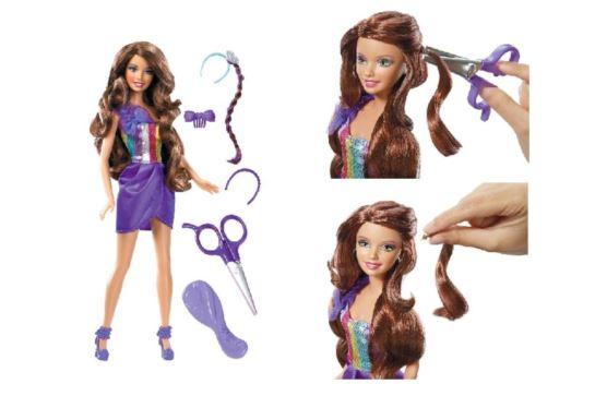 Lalka Barbie ze Skracanymi Włosami Mattel W3911