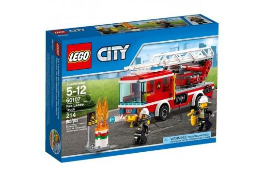 LEGO City Wóz Strażacki z Drabiną 60107