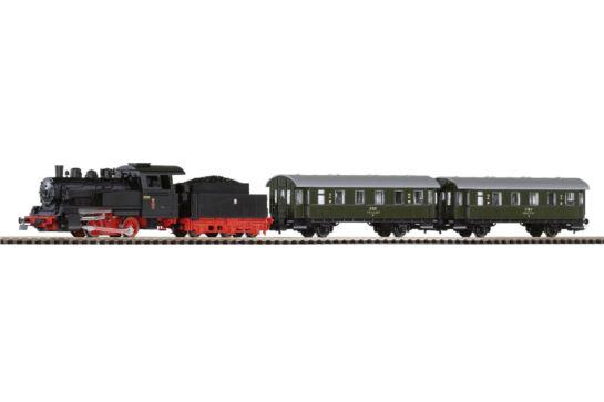 PIKO 97920 Zestaw Startowy z Parowozem i Wagonami Pasażerskimi PKP