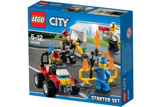 LEGO City Straż Pożarna Zestaw Startowy 60088