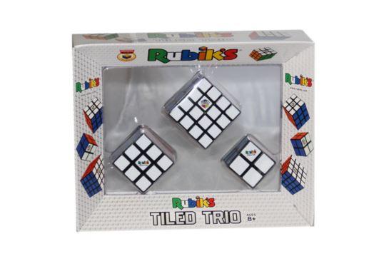 Kostka Rubika zestaw 3 szt.Tiled Trio