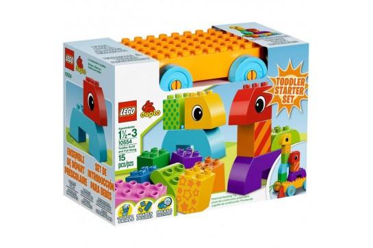 LEGO DUPLO Kreatywny Zestaw Do Ciągnięcia Dla Maluszka 10554