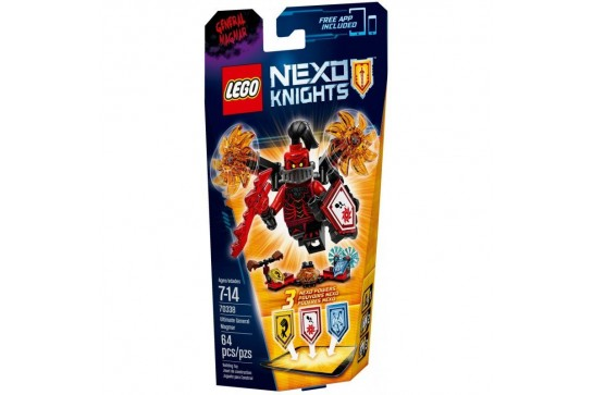 LEGO Nexo Knights Generał Magmar 70338