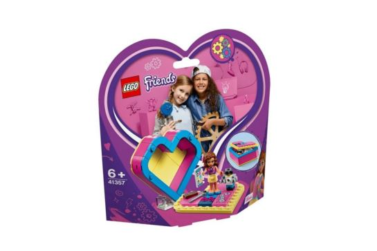 LEGO Friends 41357 Pudełko w Kształcie Serca Olivii