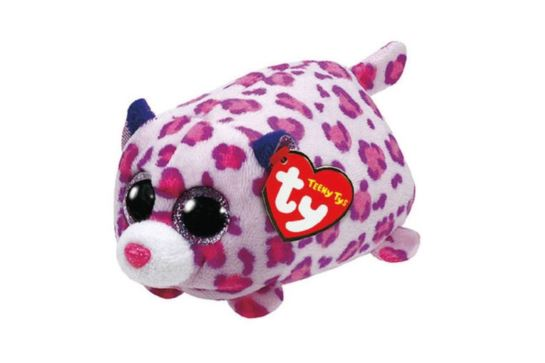 Maskotka TY Teeny Tys Różowy Leopard Olivia