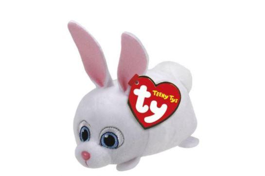 Maskotka TY Teeny Tys Królik Snowball Sekretne Życie Zwierzaków