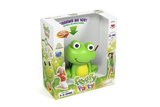 Froggy Party Gra Imprezowa Dumel Discovery