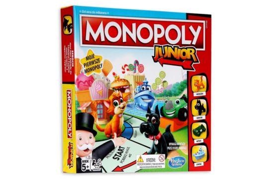 Gra Monopoly Junior Hasbro
