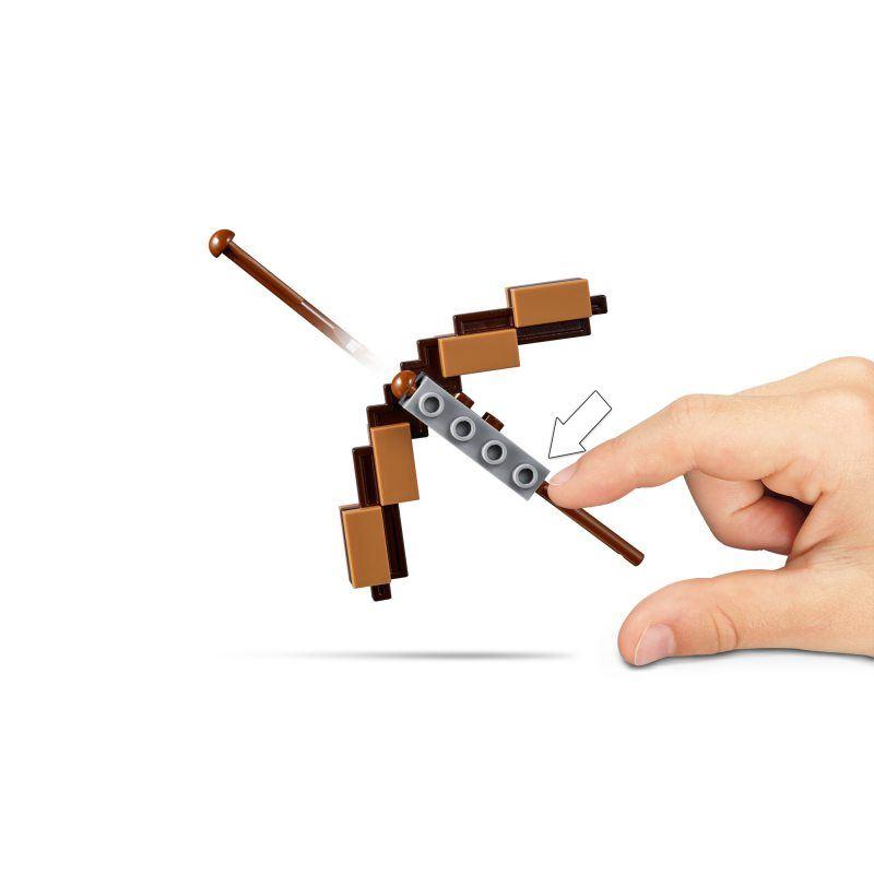 bad9f7dea LEGO Minecraft 21150 BigFig Szkielet z Kostką Magmy