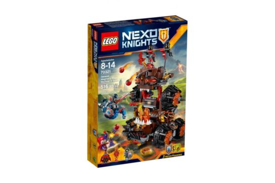 LEGO Nexo 70321 Knights Maszyna Oblężnicza Generała Magmara