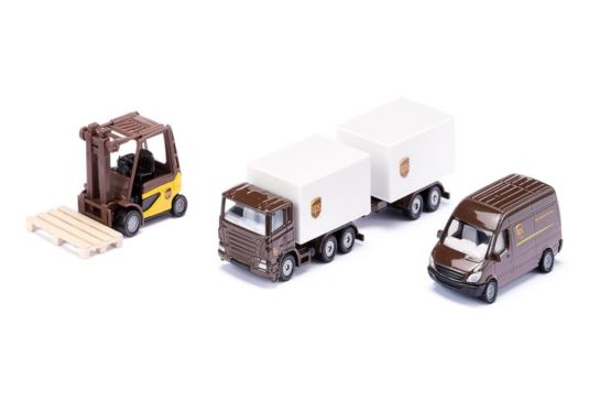 Siku 6324 Pojazdy Logistyczne UPS