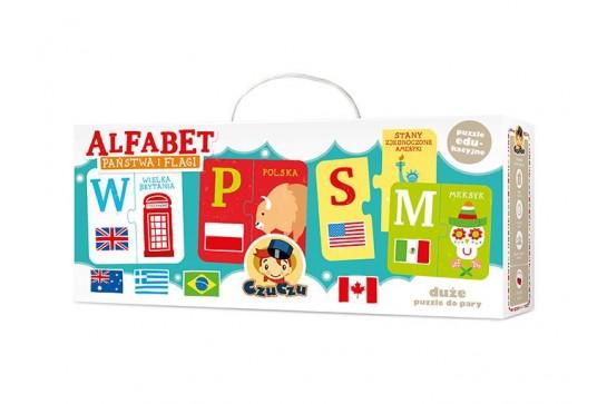 CzuCzu Puzzle Alfabet Państwa i Flagi