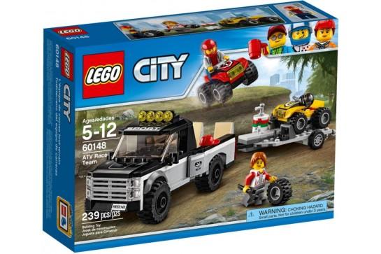 LEGO City Wyścigowy Zespół Quadowy 60148