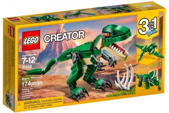 LEGO Creator Potężne Dinozaury 31058