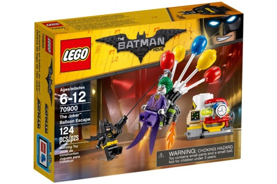LEGO The Batman Movie Balonowa Ucieczka Jokera 70900