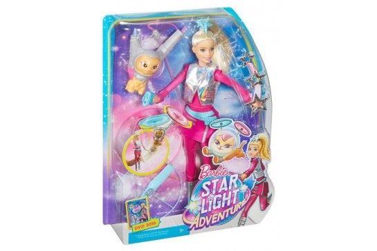 Barbie i Latający Kotek Gwiezdna Przygoda Mattel DWD24