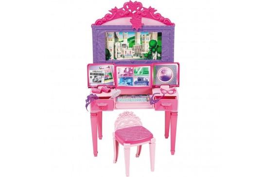 Barbie Toaletka Księżniczki Mattel CDY64