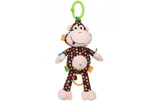Zawieszka Małpka Martha z Pozytywką