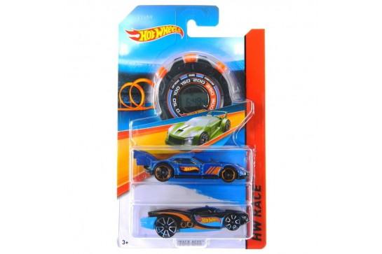 Zestaw 2 Auta Hot Wheels Asy Prędkości ze Stoperem