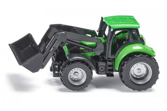 Traktor z Przednią Ładowarką Siku 1043