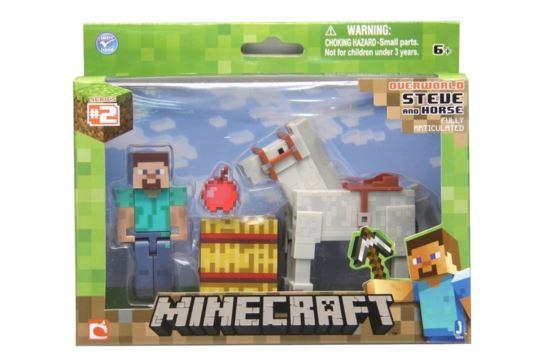 Figurka Minecraft Steve z Koniem MOJANG
