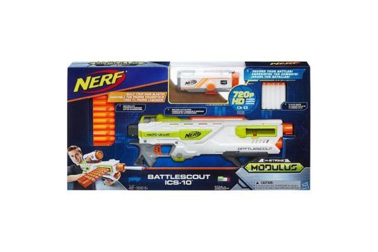 Nerf N-Strike Modulus Wyrzutnia Battlescout z Kamerą