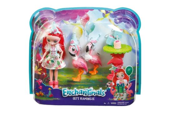 Enchantimals Flamingowe Figle Fanci Flamingo i Swash FCG79