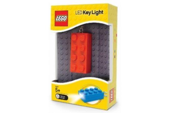 LEGO Classic Latarka Brelok Czerwony Klocek 2x4