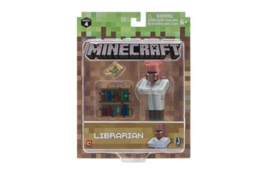 Figurka Minecraft Bibliotekarz MOJANG
