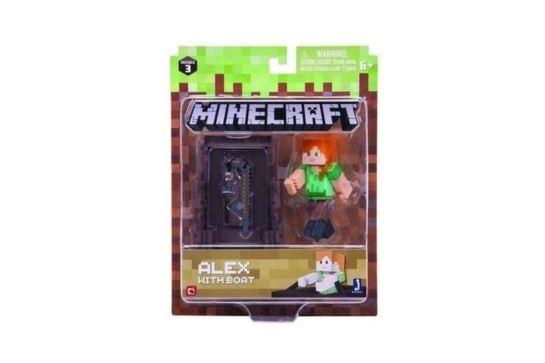 Minecraft Figurka Alex z Łodzią 16491