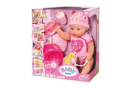 Lalka Baby Born z Miękkim Brzuszkiem Zapf Creation