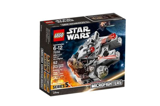 LEGO Star Wars 75193 Microfighters Sokół Millenium