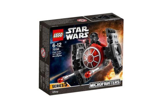 LEGO Star Wars 75194 Microfighters Myśliwiec TIE Najwyższego Porządku