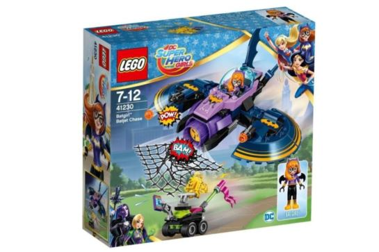 LEGO Super Hero Girls 41230 Batgirl™ i pościg Batjetem