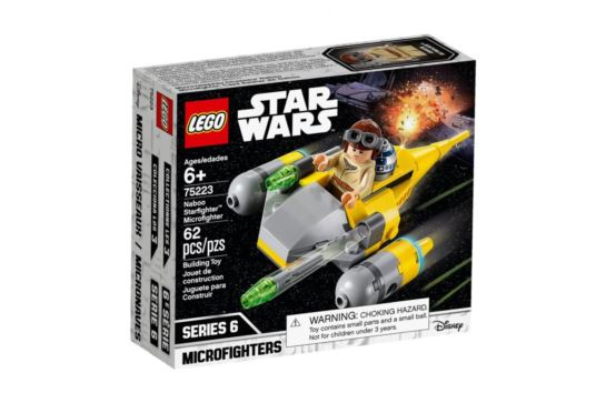 LEGO Star Wars 75223 Naboo Starfighter Microfighters 6