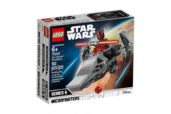 LEGO Star Wars 75224 Sith Iinfiltrator Microfighters 6