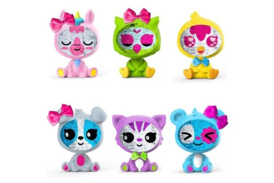 TM Toys Figurka Zequins Cekinowe Zwierzaki