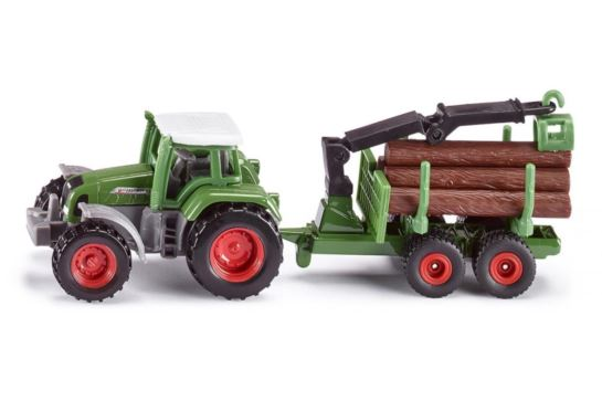 Siku 1645 Traktor z Leśną Przyczepą