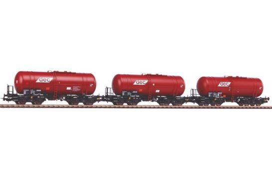 PIKO Expert 58361 Zestaw 3 Wagonów Cystern ZAS DEC