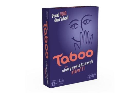 Gra Słowna Taboo Tabu Hasbro A4626