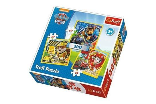 Puzzle 3w1 - Psi Patrol Trefl 34839