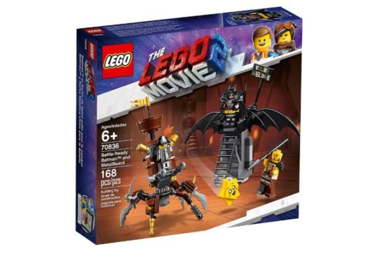 LEGO Movie 2 70836 Batman i Stalowobrody