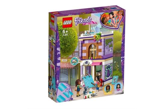 LEGO Friends 41365 Atelier Emmy